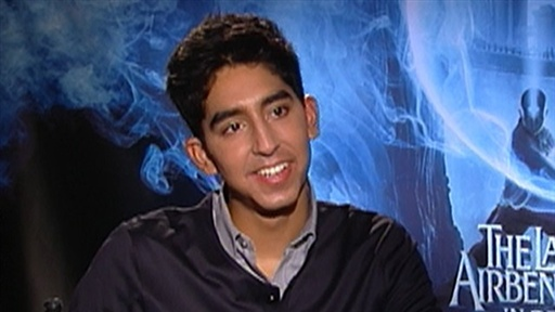 Dev Patel Talks 'The Last Airbender' Video