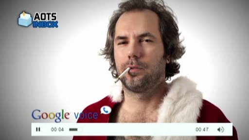 AOTS Google Voice Inbox: Happy Holidays Video