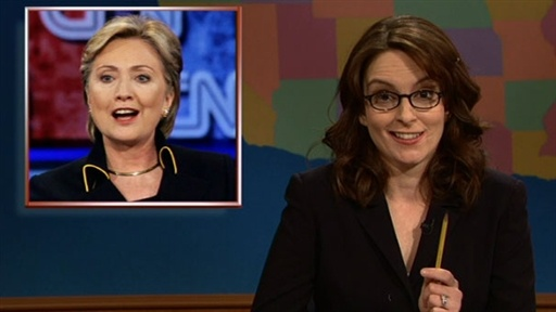 [Tina Fey on Update]