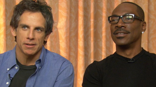 [Ben Stiller & Eddie Murphy Talk 'Tower Heist']