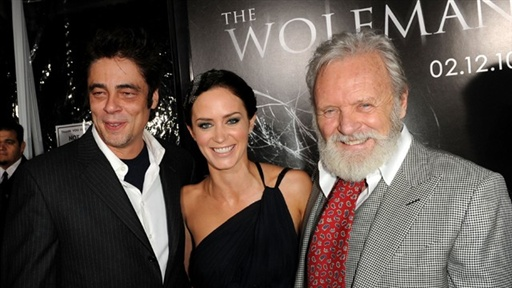 'the Wolfman' Premiere, Los Angeles Video