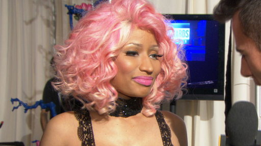 [2011 AMAs Backstage: Nicki Minaj 'Excited' for Her Wins]