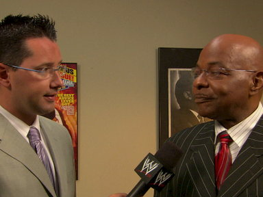[Teddy Long gives the WWE Universe what they want]