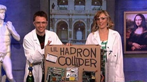 [Chris Hardwick Presents His Lil Hadron Collider]