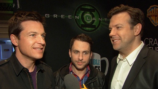 Jason Bateman, Jason Sudeikis &amp; Charlie Day Talk &#39;Horrible Bosse Video