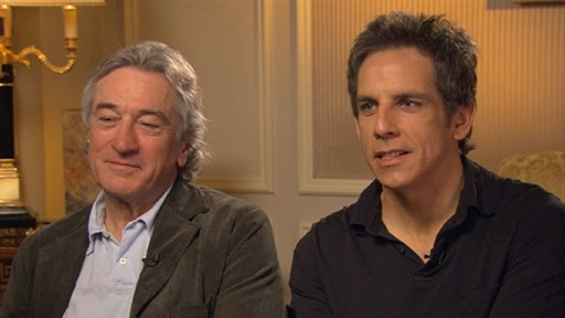 [Robert De Niro and Ben Stiller Talk 'Little Fockers']