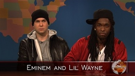 [Weekend Update: Lil' Wayne and Eminem]