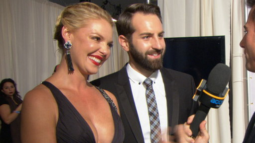 2011 AMAs Backstage: How Do Katherine Heigl &amp; Josh Kelley Make T Video