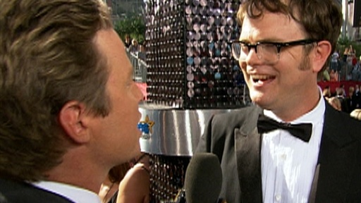 [Rainn Wilson Says 'The Internet Kinda Sucks,' But Being Nominate]