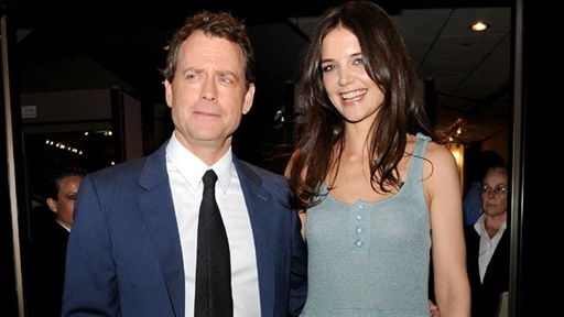 [Katie Holmes & Greg Kinnear at 'the Kennedys' LA Premiere]