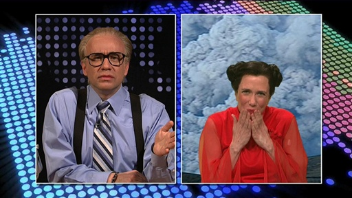 Larry King Volcano Cold Open Video