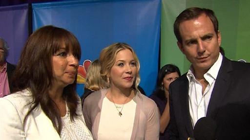 [Christina Applegate, Will Arnett & Maya Rudolph Staying 'up All]