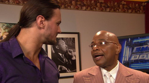 [SmackDown General Manager Theodore Long Is Approached by Santino]
