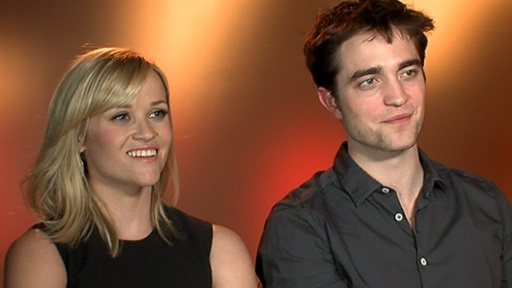Reese Witherspoon &amp; Robert Pattinson Fall in Love On &#39;Water for Video
