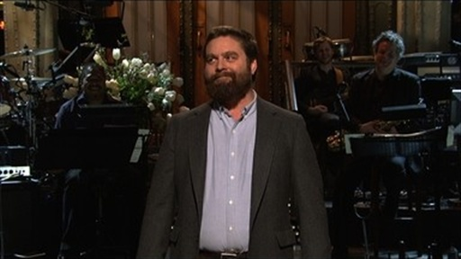 Zach Galifianakis Monologue Video