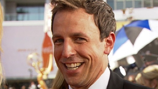 2009 Emmys Red Carpet: Does Seth Meyers Want To Pull A Kanye Wes Video