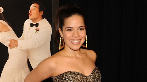 [America Ferrera's 'Our Family Wedding' Premiere, New York]