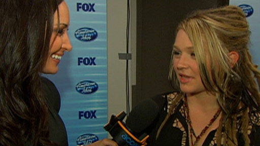 [Crystal Bowersox Is 'Calm' & 'Serene' at Being 'Idol's' Runner-U]