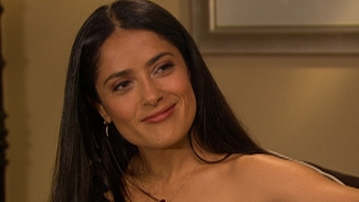 Salma Hayek: Bearded and Beautiful for &#39;Vampire&#39;s Assistant&#39; Video