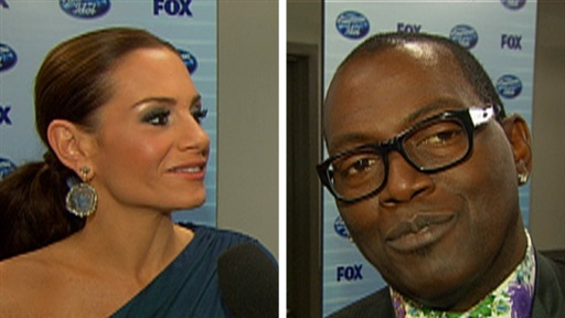 Randy Jackson, Kara DioGuardi & Paula Abdul Say 'Goodbye' to Sim Video