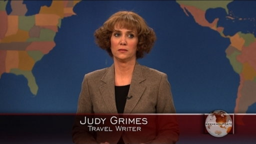 Weekend Update: Judy Grimes Video