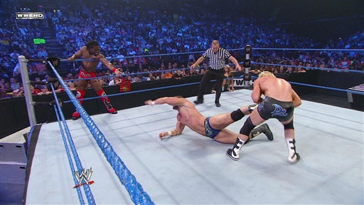 [Kofi Kingston and Chris Masters Vs. Dolph Ziggler and Chavo Guer]