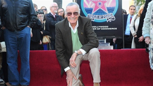 [Stan Lee Gets His Star On the Hollywood Walk of Fame]