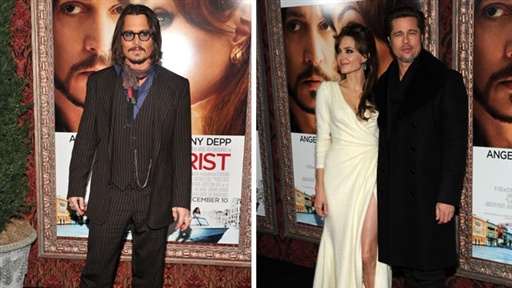 Johnny Depp and Angelina Jolie's NYC 'The Tourist' Premiere Video