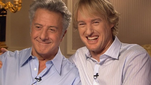[Owen Wilson and Dustin Hoffman Talk 'Little Fockers']