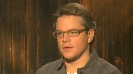 [Matt Damon Talks 'True Grit']