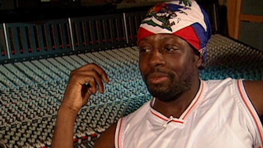 Access Archives: Wyclef On Brad & Angie's Haiti Trip - 'They Hav Video