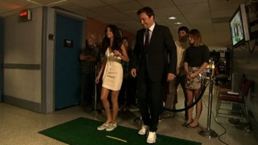 Shoe Golf with Selena Gomez Video