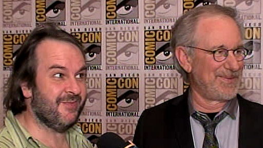 Comic-Con 2011: What Do Steven Spielberg & Peter Jackson Geek Ou Video