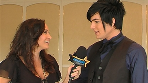 [Adam Lambert On AMAs, Debut Album and More]
