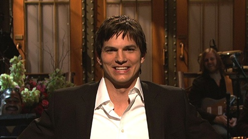 [Kutcher Monologue]