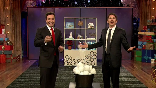 [Snowball Shootout with Ethan Hawke]