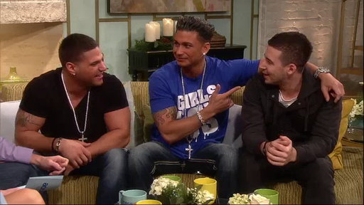 ['Jersey Shore' Boys Talk Tanning Rivalries and the Situation's A]
