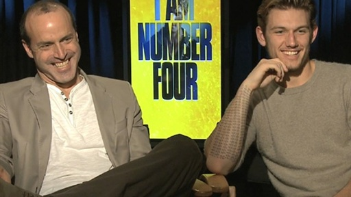 [Alex Pettyfer & Director D.J. Caruso Talk 'I Am Number Four']