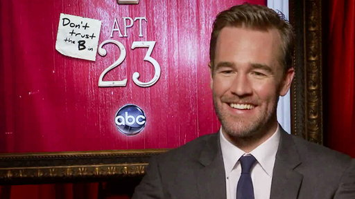 James Van Der Beek Talks Playing Himself in 'Don't Trust the B-- Video