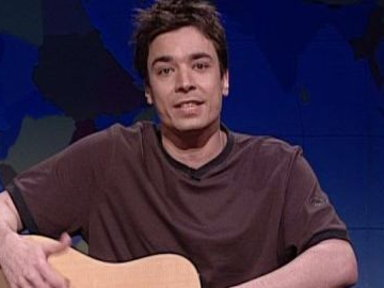 [Weekend Update Segment: Jimmy Fallon]