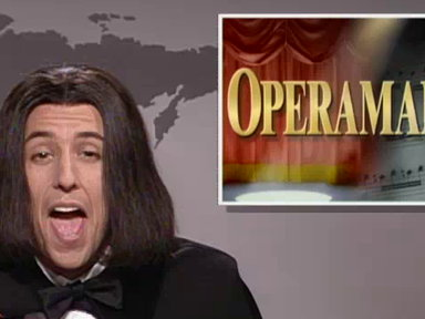 Adam Sandler As Opera Man Video