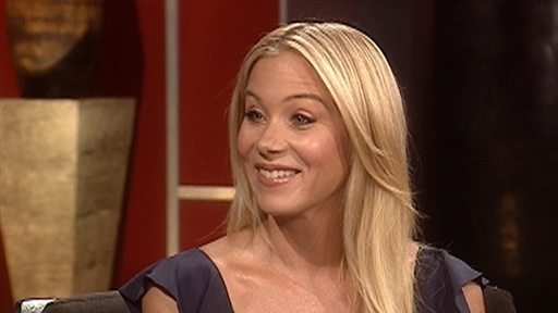 [Christina Applegate Showing Off 'the Girls']