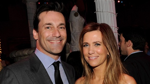 Kristen Wiig & Jon Hamm Laugh Off 'Bridesmaids' Sex Scene Video