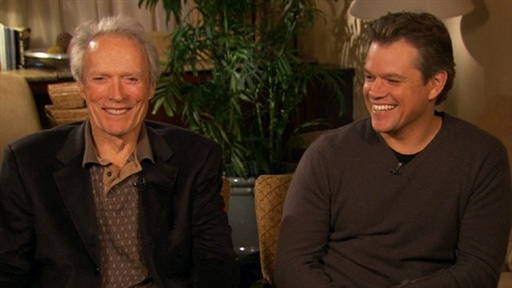 Matt Damon & Clint Eastwood Talk 'Hereafter' Video