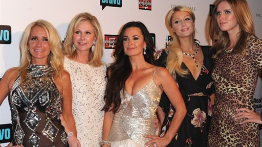 Paris & Nicky Hilton Hit 'the Real Housewives of Beverly Hills' Video