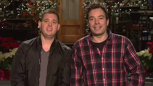 [SNL Promo: Jimmy Fallon / Michael Buble]