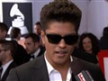 Live From the Red Carpet: 2011 Grammys: Bruno Mars