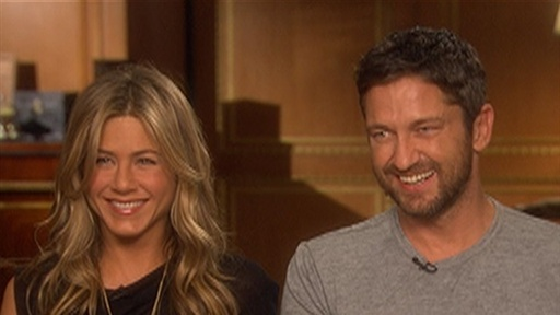 Jennifer Aniston &amp; Gerard Butler Answer Fan Questions Video