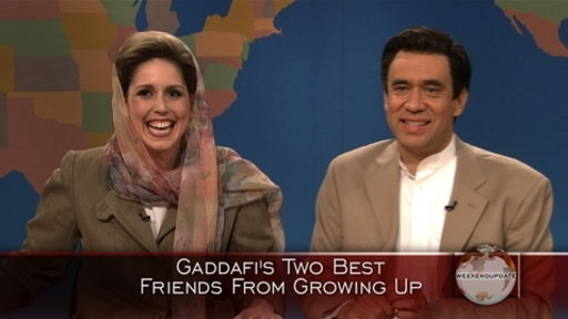 [Weekend Update: Childhood Friends of Moammar Gaddafi]