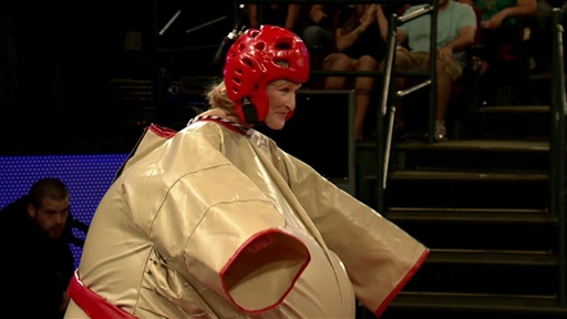 Sumo Wrestling with Glenn Close view on break.com tube online.